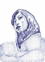 538 Tibet Girl