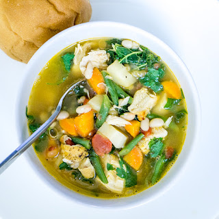 Chicken and Vegetable Soup.