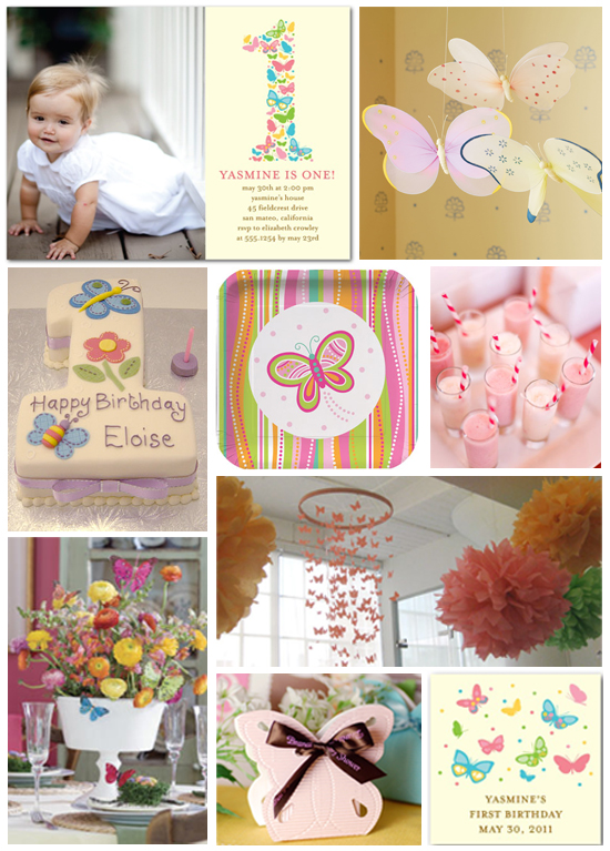1st Birthday Party Ideas...  DIY Projects By Nina