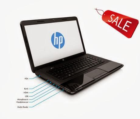HP 2000-2c29WM 15.6-Inch Laptop PC (Black Licorice) / 4GB DDR3 RAM