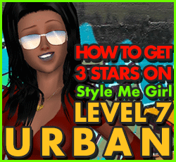 Style Me Girl  Level 7 - Urban - L.Jayne - Stunning! Three Stars