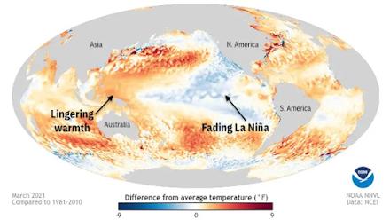 Η περίοδος των τυφώνων στον Ατλαντικό Ωκεανό το 2021 προβλέπεται να είναι πιο ενεργή από το συνηθισμένο