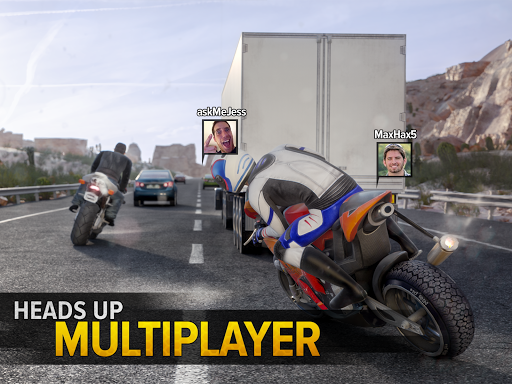 Highway Rider Motorcycle Racer 2.0.1 screenshots 6