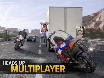 Highway Rider Motorcycle Racer- screenshot thumbnail