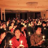 Candlelight service on Christmas Eve. 2009-12-27 聖誕節平安夜
