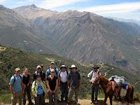 Salkantay Trek to Machu Picchu - group shot