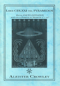 Cover of Aleister Crowley's Book Liber 671 vel Pyramidos Comments