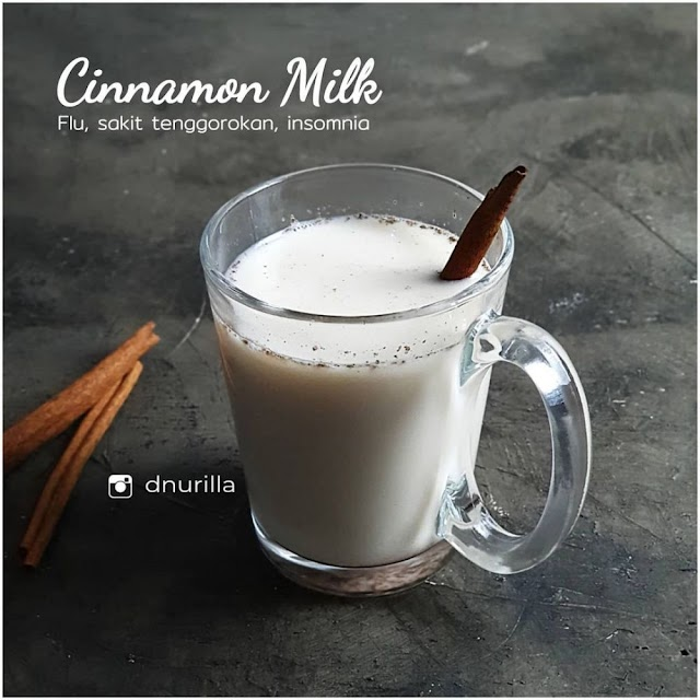 Begini Cara Membuat Cinnamon milk