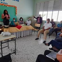 """Distrito Educativo 01-05 Vicente Noble desarrolló taller """"Socializacion Atención a la Diversidad""""."""