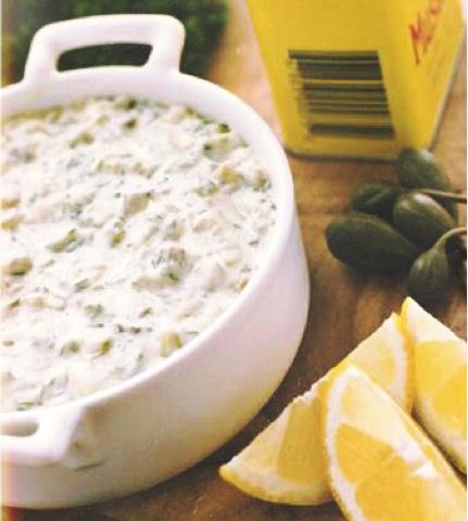 El atelier de mery lubina a la sal con salsa t rtara for Salsa para lubina a la sal