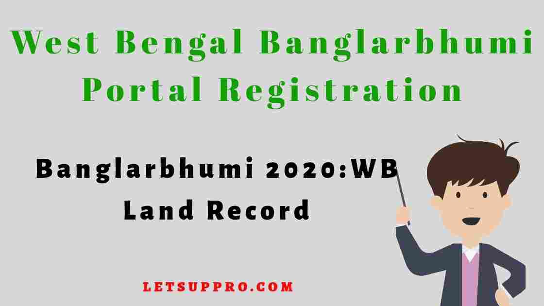 West Bengal Banglarbhumi | Banglarbhumi Portal Registration