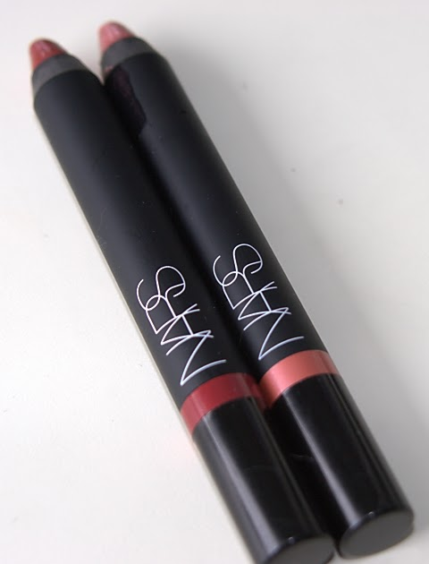 NARS Velvet Gloss Lip Pencil Swatches - Baroque and ...