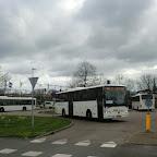 Bussen op station Weesp