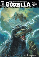 Actualización 25/10/2016: El maestro de los monstruos E. P. Green nos trae el numero 2 de Godzilla: Rage Across Time. ¿Que mato a los dioses antiguos? No, no daré pistas, es demasiado obvio.