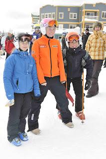 BC Winter Games K1 Slalom Awards, Feb 26 2012 - Dickson Wong