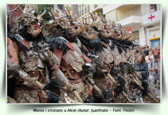 Moros i Cristans a Alcoi