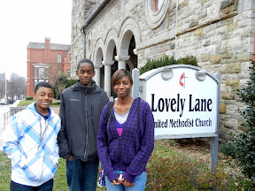 Confirmands at Lovely Lane