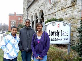 Confirmands at Lovely Lane