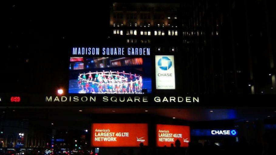 В Нью-Йорке (часть 2-я). В Мэдисон сквер Гарден, на хоккее и баскетболе