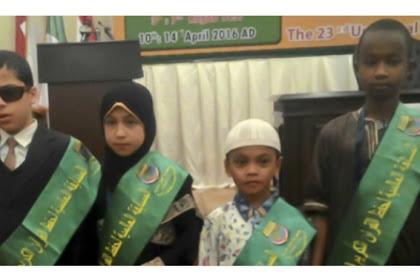 Hafiz Cilik Musa Jadi Idola Lomba Hafalan Quran Dunia