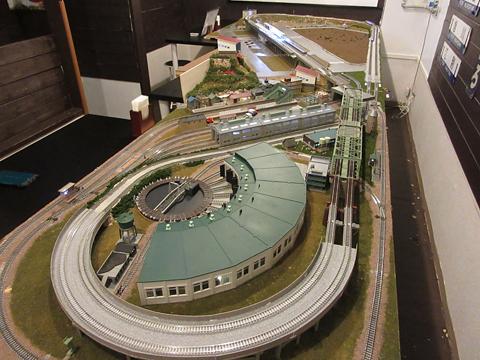 鉄道喫茶・居酒屋「ぽぷら」 鉄道模型レイアウト その2