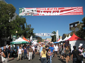 Photo: groSolar at Little Italy Festa in San Diego