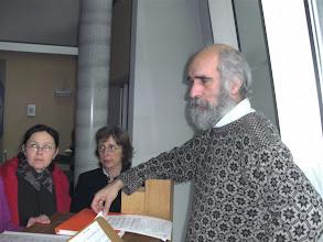 Photo: Занятие хора под руководством Германа - Koorherhaling onder leiding van Herman