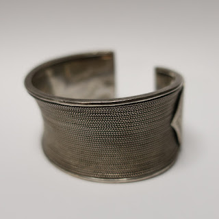 Sterling Silver Wide Cuff