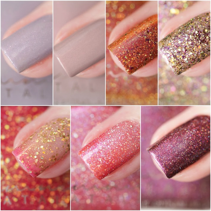 [Swatches] Femme Fatale–Welcome to Mars Collection