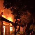 Sekolah MTs Negeri 3 Subang, Desa Kasomalang Wetan , ludes Terbakar Si Jago Merah , Ketika Warga Sholat Tarawih
