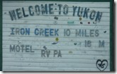 Yukon Sign, Alaska Highway