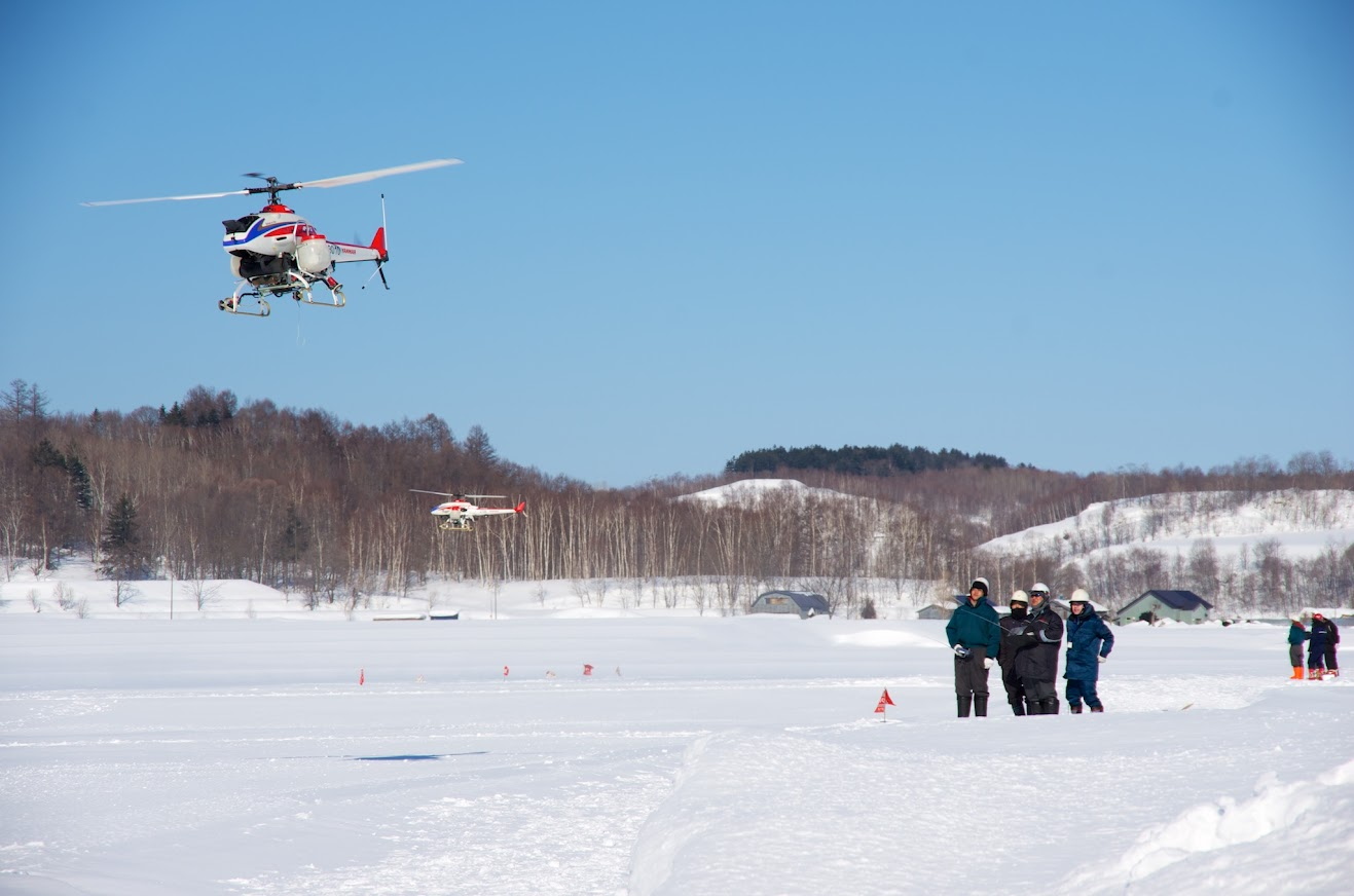 産業用無人ヘリコプターのオペレーター養成教習