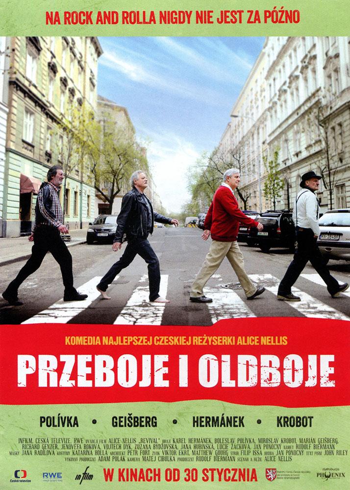Ulotka filmu 'Przeboje i Oldboje (przód)'