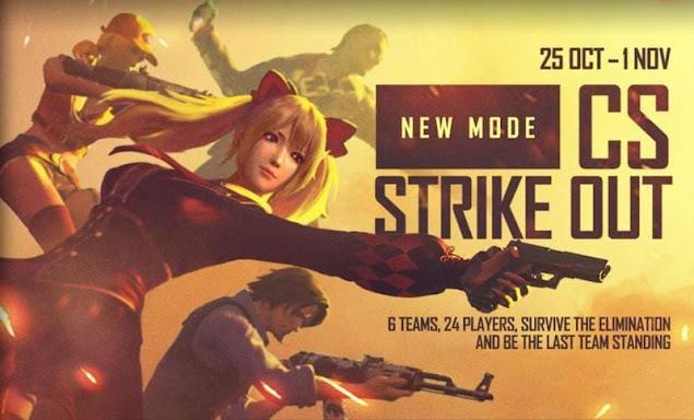 Free Fire'da CS Strike Out Modu: Bilmeniz gereken her şey