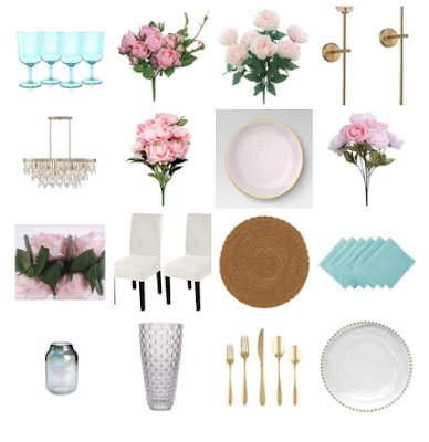 Mother's Day Tablescape Sources