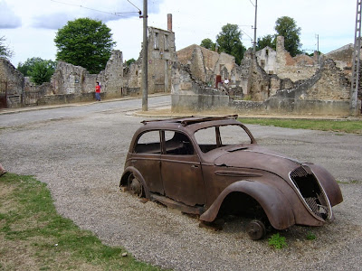 French Village Diaries Something Old Something New by James R Vance Oradour-sur-Glane