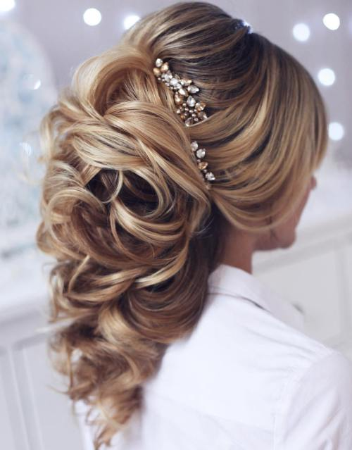 Best Wedding Hairstyles for Long Hair 2017 13