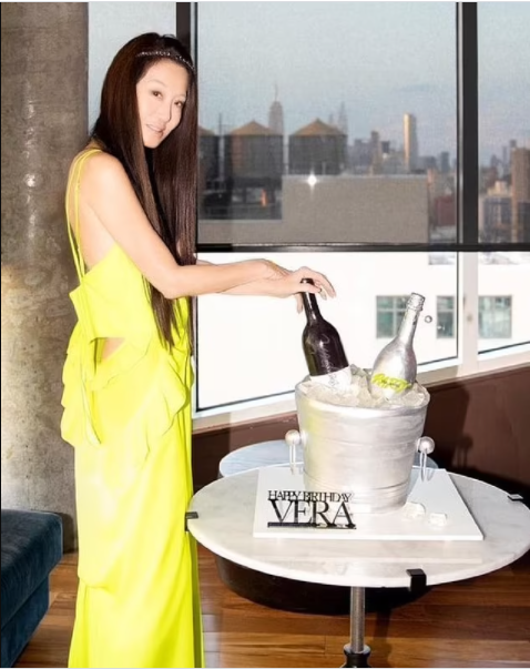 You have the potion of eternal youth!' - Ageless designer Vera Wang stuns followers with her youthful look as she celebrates her 72nd birthday (photos)