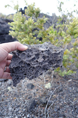 Volcanic Rock at Volcanoes National Park