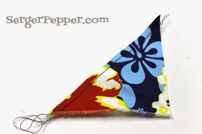 Serger Pepper - Bias - Definitive Essential Foolproof Guide - Sew Basic Series