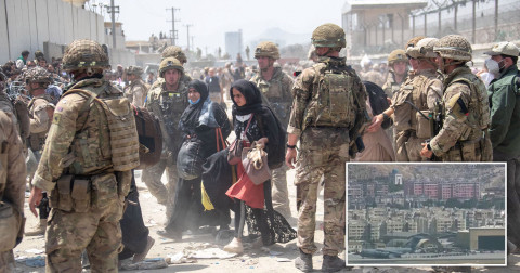 UK to stop accepting and evacuating refugees from Afghanistan today