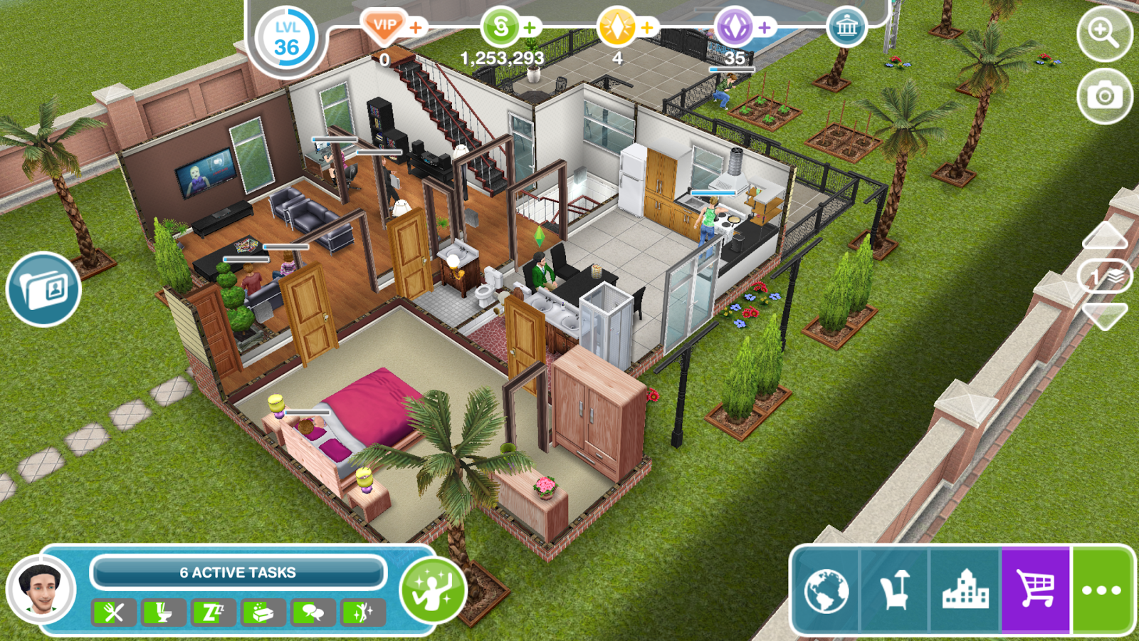 De sims freeplay android apps op google play for Sims 4 idee per la casa