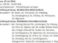 Info Pemadaman Listrik di Rembang