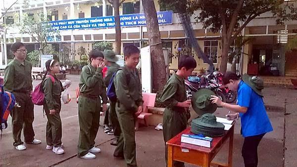 """Chương trình học tập ngoại khóa """"Ngày học trong Quân đội"""""""