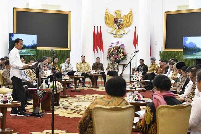 Jokowi Kumpulkan Pendukung di Bogor, Beri Kabar Akan Ada Reshuffle