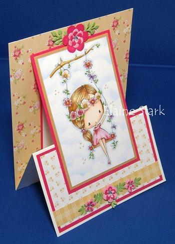Elaine - kinetic card