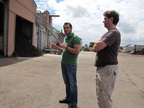 Zaterdag 9 juli bezochten we de de biogasinstallatie van Wim Lievens op de Wolvendries te Halle.