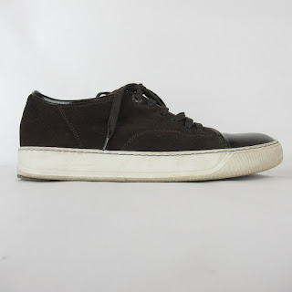 Lanvin DBB1 Brown Leather Sneakers