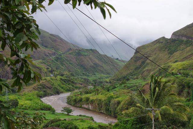 Le Rio Mira à El Limonal (Imbabura), 5 décembre 2013. Photo : J.-M. Gayman