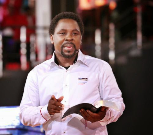 Abducted School Girls God Says He Will Release Them Tb Joshua